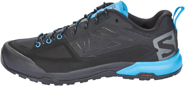 Salomon X Alp SPRY Shoes Men blackmagnethawaiian surf at
